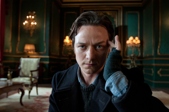 Young Charles Xavier from X-Men First Class film