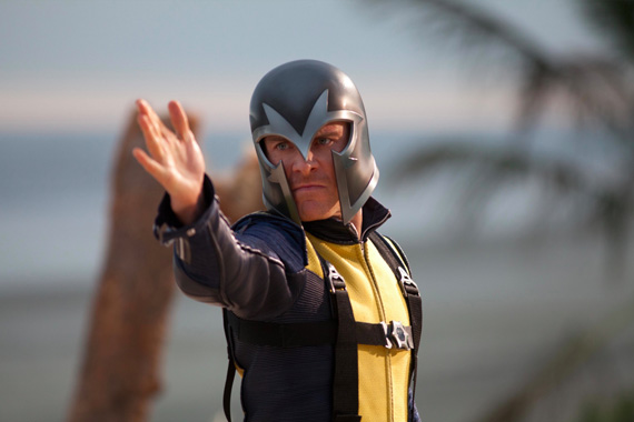 Younger Magneto with Helmet